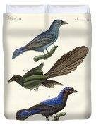 Beautiful Foreign Birds Duvet Cover