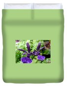 Beautiful Orchid Flower  Duvet Cover