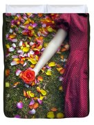 Bedded In Petals Duvet Cover
