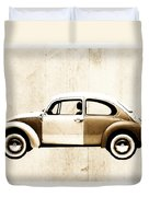 Beetle Car Duvet Cover by David Ridley