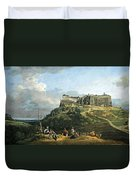 Bellotto's The Fortress Of Konigstein Duvet Cover