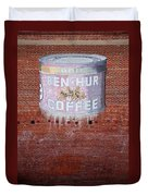 Ben Hur Coffee Duvet Cover