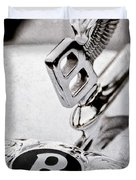 Bentley Hood Ornament - Emblem Duvet Cover