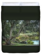 Beside The Pond Duvet Cover