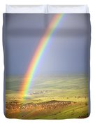 Big Horn Rainbow Duvet Cover
