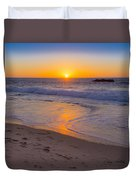 Big Sur Sunset Duvet Cover