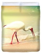 Bird Breakfast Duvet Cover