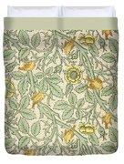 Bird Wallpaper Design Duvet Cover