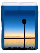 Birdhouse With A View Duvet Cover