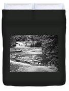 Black And White Cascade Duvet Cover