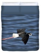 Black-necked Stilt Duvet Cover