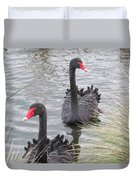 Black Swan Duvet Cover