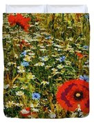 Blossoming Meadow Duvet Cover