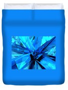 Blue Abstract Duvet Cover