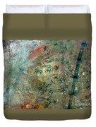 Blue Bamboo Duvet Cover