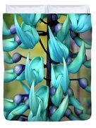Blue Jade Plant  Hawaii, United States Duvet Cover