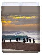 Blue Marlin Duvet Cover by Sean Davey