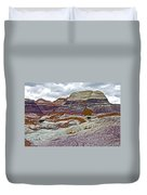 Blue Mesa Trail In Petrified Forest National Park-arizona Duvet Cover
