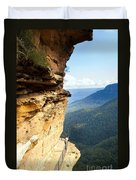Blue Mountains Walkway Duvet Cover