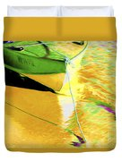 Boat Abstract Duvet Cover