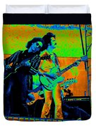 Boc #20 Enhanced In Cosmicolors Duvet Cover