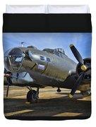 Boeing B-17g Flying Fortress Duvet Cover