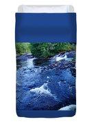 Bog River Falls Duvet Cover