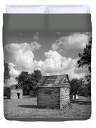 Bohls Cabins At Bee Cave Duvet Cover
