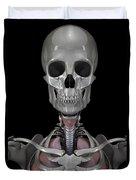 Bones Of The Head Duvet Cover