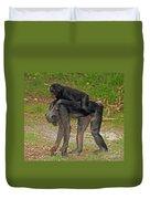 Bonobos Duvet Cover