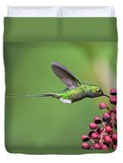 Booted Racket-tail Duvet Cover