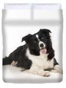 Border Collie Dog Duvet Cover