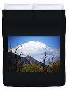 Boulder Flatirons 1 Duvet Cover