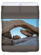 Boulders In A Desert, Joshua Tree Duvet Cover