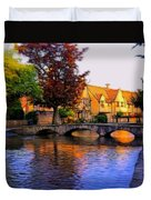 Bourton On The Water Duvet Cover