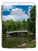 Bow Bridge Central Park Duvet Cover
