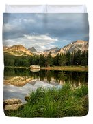 Brainard Lake Reflections Duvet Cover