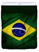 Brazilian Flag Duvet Cover
