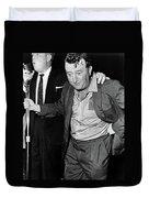 Brendan Behan (1923-1964) Duvet Cover