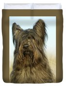Briard Dog Duvet Cover