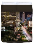 Brickell Ave Downtown Miami  Duvet Cover