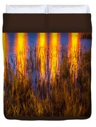 Bridge Of Lions Reflections St Augustine Florida Painted    Duvet Cover