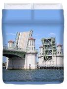 Bridge Of Lions St Augustine Florida Duvet Cover