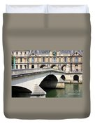 Bridge Over The Seine Duvet Cover