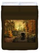 Bridge To Autumn Duvet Cover