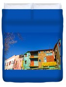 Bright Colors In Buenos Aires Duvet Cover
