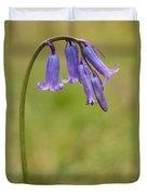 British Bluebell Hyacinthoides Non Scripta Duvet Cover