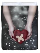 Broken Heart Duvet Cover by Joana Kruse