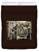 Brooklyn Grafitti Duvet Cover