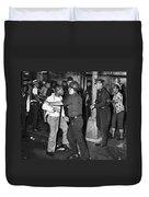 Brooklyn Riots, 1964 Duvet Cover
